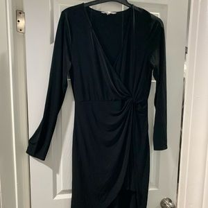 Black L BCBGeneration  long sleeve dress